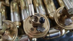 Reparación de bombardino de rotores