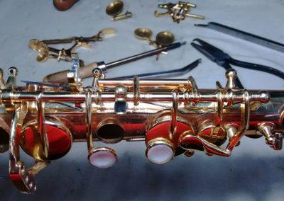 Reparación de saxofón: Foto 3