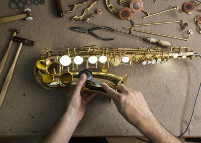 Reparación de saxofón: Foto 4