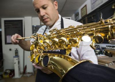 Reparación de saxofón: Foto 1