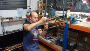 Reparación de Trombón de vara simple: Foto 2
