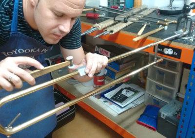 Reparación de Trombón de vara simple: Foto 1
