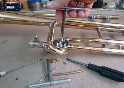 Reparación de Trombón de vara con transpositor: Foto 3