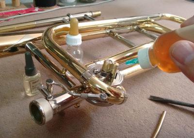 Reparación de Trombón de vara con transpositor: Foto 4