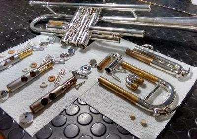 Reparación trompeta: Foto 4