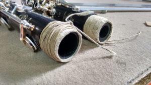 cambio corchos espiga clarinete buffet