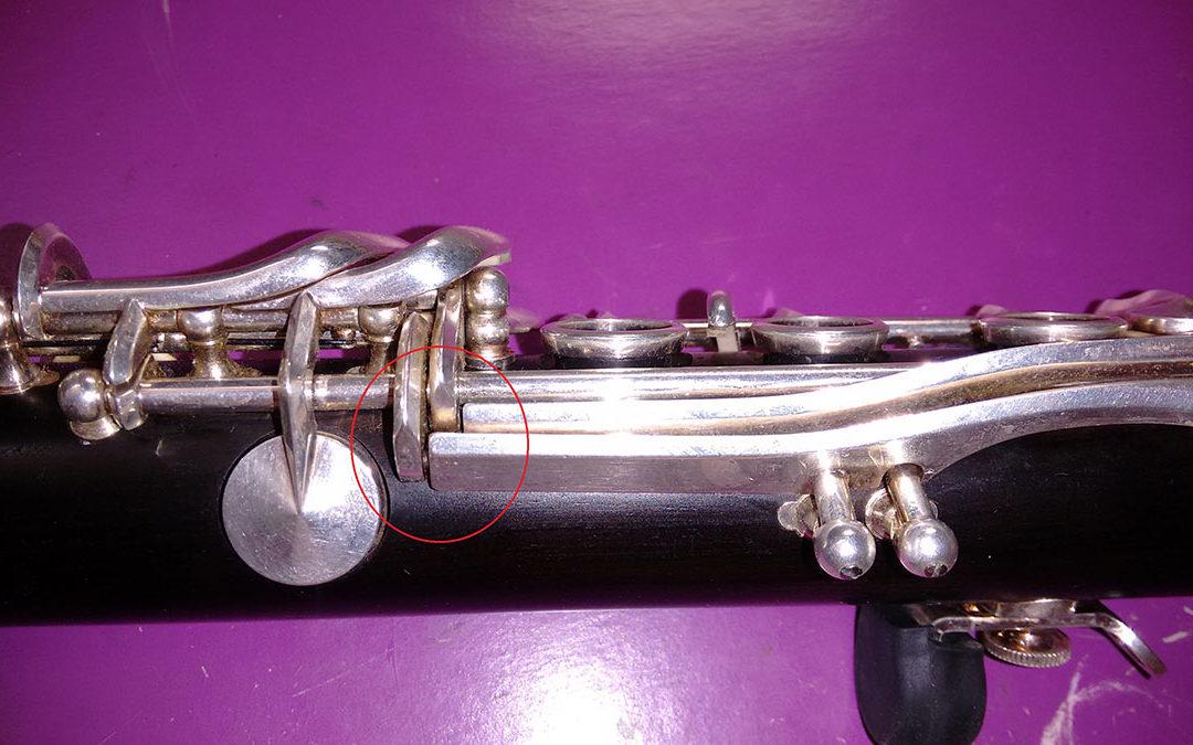 2 Reparación de Clarinete Buffet Mod. RC.