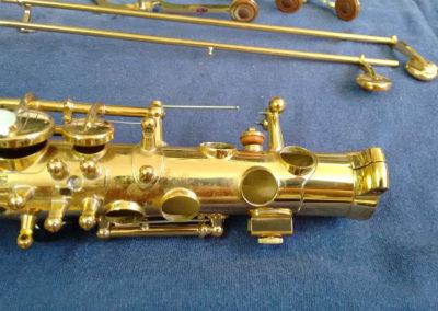 1 Reparación de Saxo Alto Yamaha