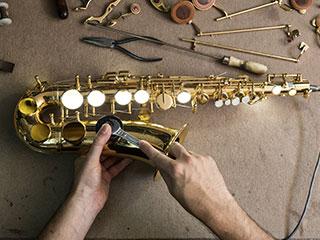 Reparación de saxofón en Madrid
