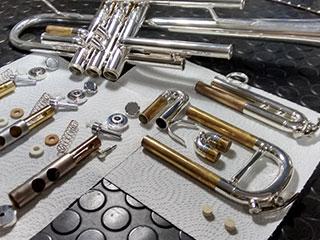 Reparación de trompeta en Madrid